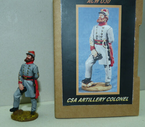 Südstaaten Artillerie Colonel ACW030 Maßstab 1//30 Kronprinz Toy Soldiers