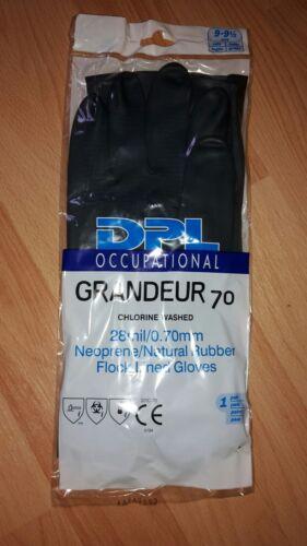 Neoprene natural rubber Gummi Handschuhe Arbeitshandschuhe Größe 9-9 1/2 Handschuhe