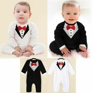 95f01c029d2d Image is loading Newborn-Kids-Baby-Boys-Outfits-Sets-Jumpsuit-Romper-