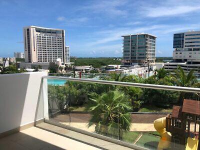 Departamento en Malecón Cancún, torre New York, Cancún, Q. Roo. (d102)