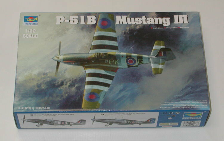 Trumpeter P-51B Mustang III 1 32 Scale