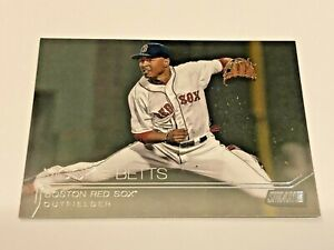 2015 Topps Stadium Club Baseball #101 - Mookie Betts - Boston Red Sox