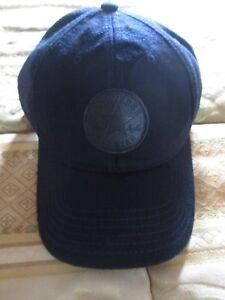 Cappello-uomo-Converse-regolabile-taglia-unica-one-size-acrilico-e-lana-blu-navy