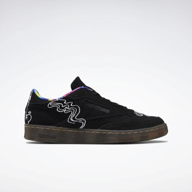 Petrificar sensación Banquete  Men's Shoes SNEAKERS Reebok Club C 85 Iconic Taping BS6212 11 for sale  online   eBay