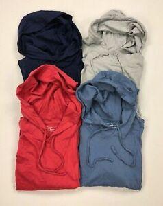 Club-Room-Mens-Hoodie-Shirt-Lightweight-Pullover-Drawstring-Variety