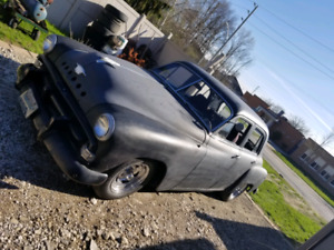 1951 Plymouth cranbrook Rat Rod Installed New Engine
