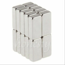 10 40pcs Super Strong Block Square Rare Earth Neodymium Magnets 10 X 5 X 3mm