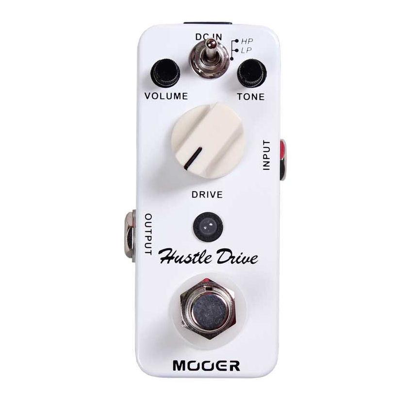 Mooer Hustle Drive Micro Guitar Effects Pedal True Bypass New