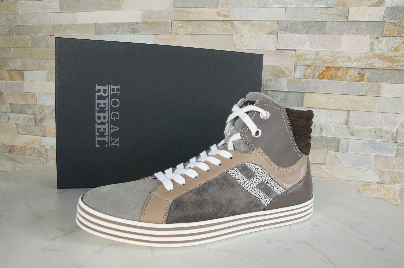 Hogan Rebel 44 10 High-Top zapatillas schnürzapatos nuevo zapatos multi ex PVP