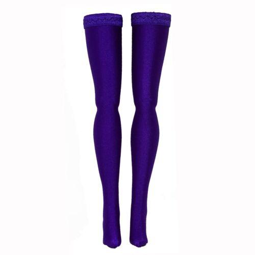 Dark Purple Doll Stockings for Wilde Imagination Ellowyne Evangeline Patience