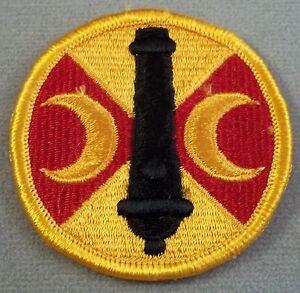 US Army color patch 210th FIELD ARTILLERY BRIGADE bde FREE SHIP