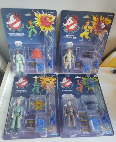 The Real Ghostbusters Complete Set Action Figure Kenner Retro Classics