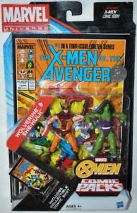 Wolverine & She-Hulk (4 ) Comic Packs MARVEL Universo serie de figuras de acción
