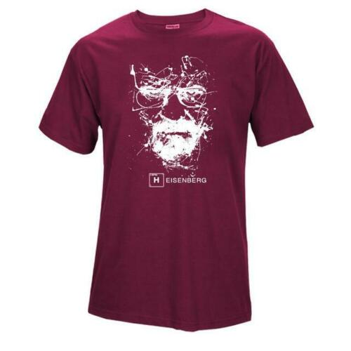 Top Quality Cotton heisenberg funny men t shirt casual short sleeve breaking bad