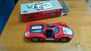 Jouet Voiture Porsche    Mercury I/43° Rouge Vintage  carrera 6