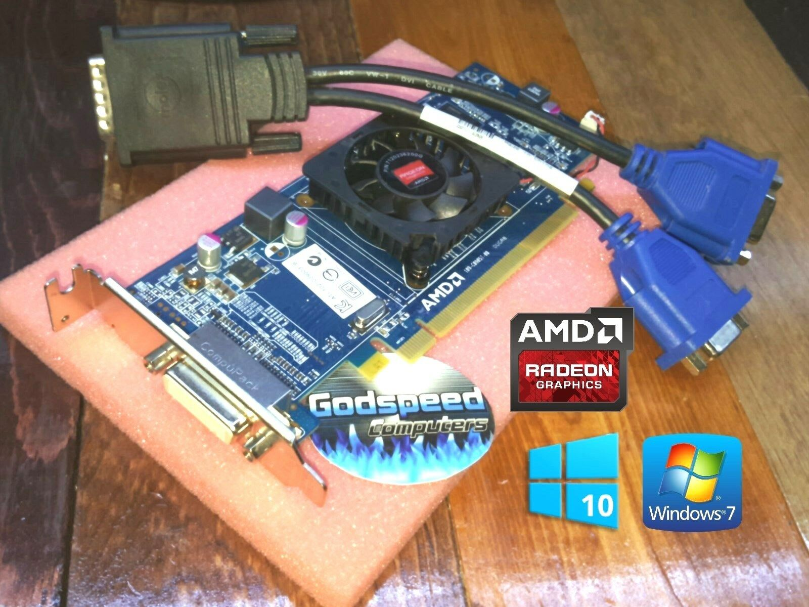HP Pavilion s5-1214 s5-1217 s5-1218 s5-1224 Slimline Dual Monitor VGA Video Card