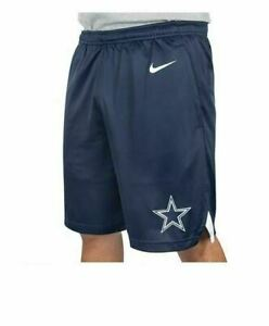 New-Dallas-Cowboys-NFL-Football-Nike-Dri-Fit-Knit-Shorts-Navy-Blue-Men-sizes-NWT