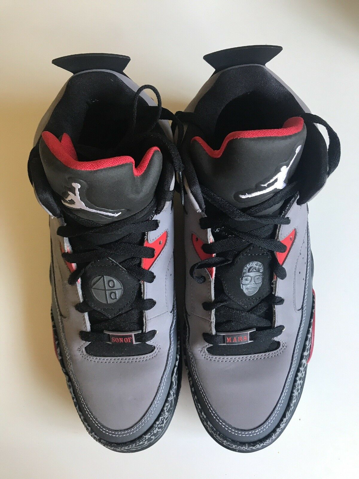 Nike Air Jordan Son Of Mars Cement Grey/ White/ Black/ Red, 580603 004, Comfortable Comfortable and good-looking