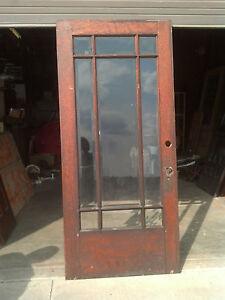 Prairie Style Beveled Glass Door Ed 13 Ebay