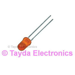 200 x LED 3mm Orange - FREE SHIPPING