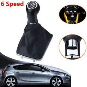 6-Velocidades-Marchas-Pomo-Palanca-Cambios-Funda-For-Opel-Astra-Corsa-05-10-Boot