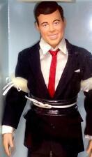 Franklin Mint The JFK Doll John F. Kennedy Dressed Vinyl Doll Original Box Stand