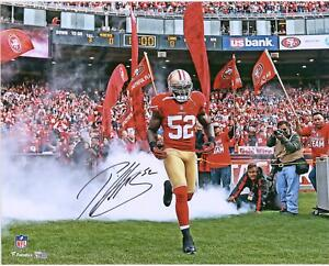 Autographed Patrick Willis 49ers 16x20 Photo Fanatics Authentic COA