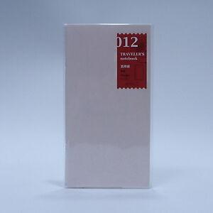 MIDORI Traveler's Notebook Refill 012Drawing Paper Regular Size Brand New Japan