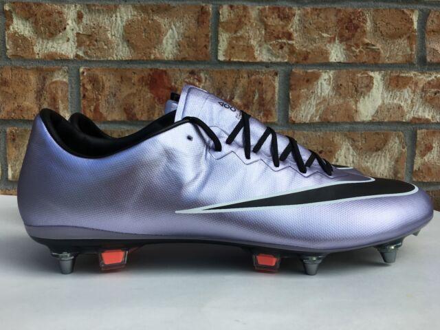 reputable site e1f6b 3901a Men s Nike Mercurial Vapor X Sg-pro Soccer Cleats Lilac Purple Black  648555-581 for sale online   eBay