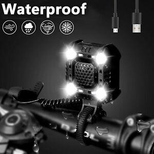 USB-recargable-LED-bicicleta-faro-ciclismo-estroboscopico-lampara-bocina