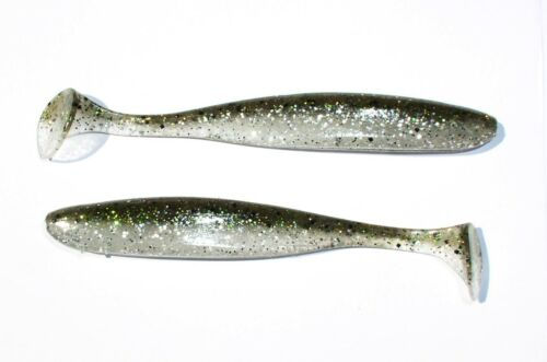 """3/"""" 4/"""" Keitech Easy Shiner 2/"""" Swimbait 5/"""" Color 416-Silver Flash Minnow Shad"""
