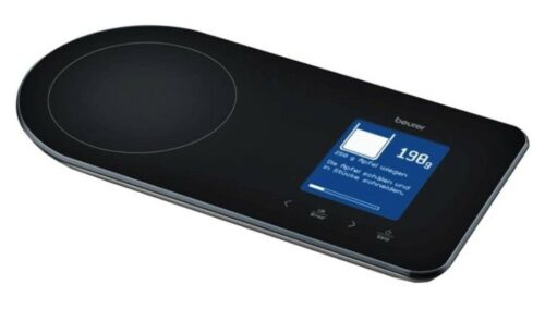 Beurer KS 800 Bluetooth® Rezeptwaage Küchenwaage 5kg Tragkraft Waage KS800