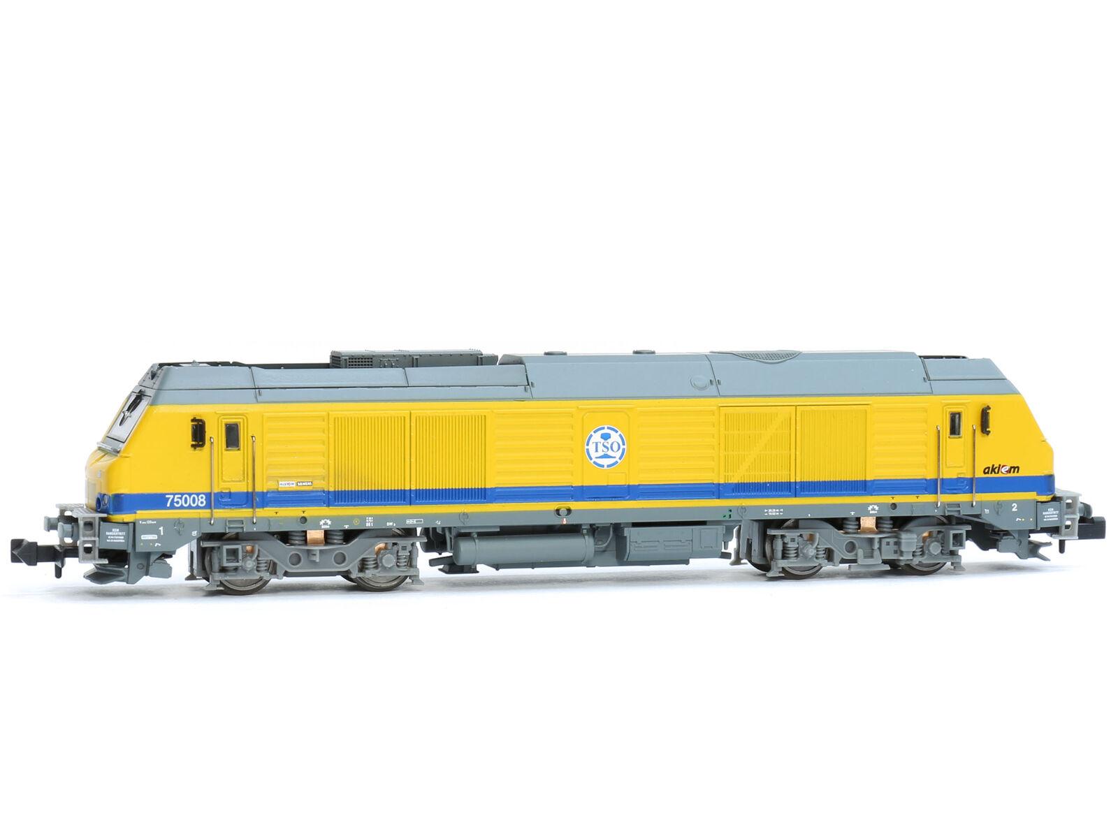 REE NW-104 - Diesellok BB-75000 TSO n°75008 Epoche V-VI - Spur N - NEU