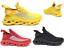 Scarpe-da-Uomo-Sneakers-Uomo-Suola-Intrecciata-Sportive-Ginnastica miniatura 1
