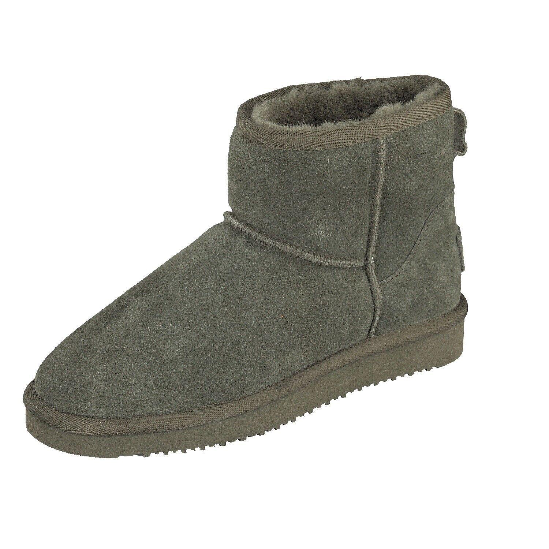 BLK1978 para mujeres Zapatos De Invierno botas de corte corte corte bajo 264-532 Piel De Cordero Acolchado Color Caqui Nuevo  mas preferencial
