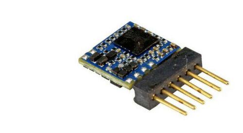 ESU 59817 LokPilot 5 Micro Dcc//Mm//SK//avec 6 Pol directement NEM 651 remplace 54688