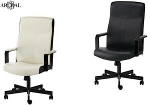 Sedia Ufficio Ikea Verde : Ikea millberget swivel chair home office in bomstad black