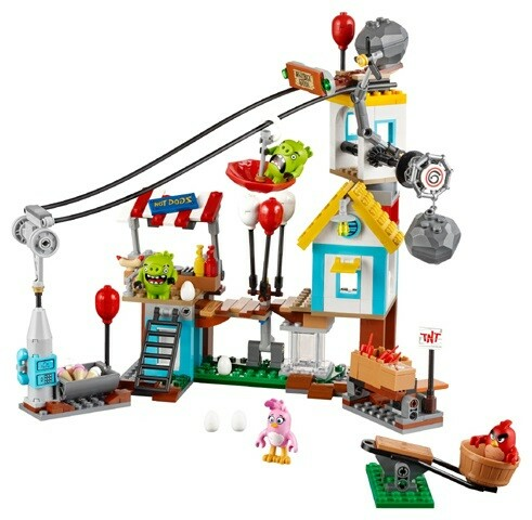 Lego andet, The Angry Birds Movie  75824 Pig City Teardown…