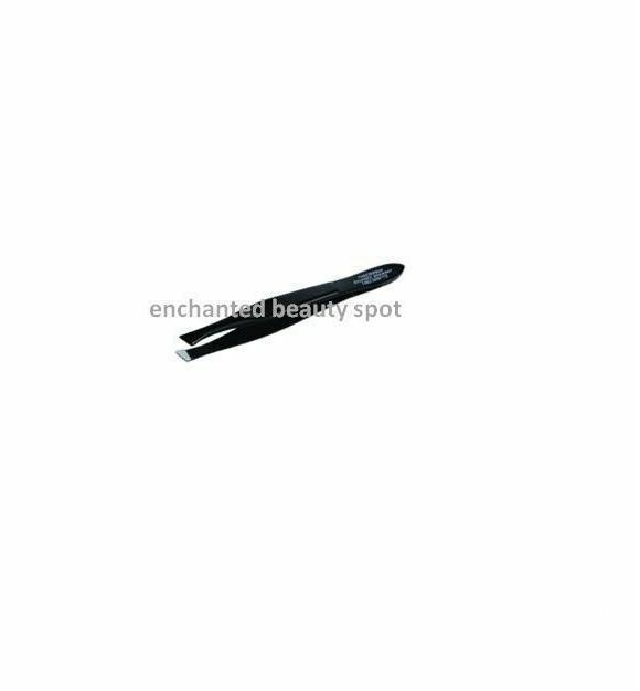 Black Tweezerman Tweezerette Mini Slant Tweezer