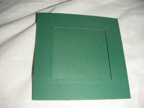 APERTURE CARD BLANKS 127mm  SQUARE WITH SQUARE APERTURE
