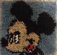 Mickey Mouse 12x12 Latch Hook Kit - Free S&h