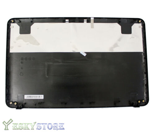 "NEW Toshiba Satellite C855 C855D LCD Back Cover 15.6/"" V000270490 Black W Hinges"