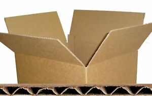 CARDBOARD  BOXES, STRONG CARDBOARD BOXES, STORAGE PACKING CARTONS BROWN