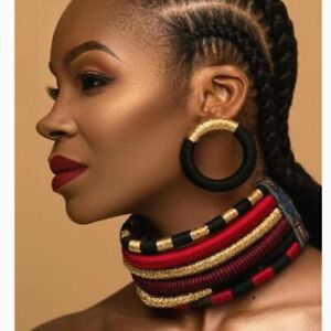 African Women Necklace And Earrings Multi-layer Jewelry Africa Bridal Wedding