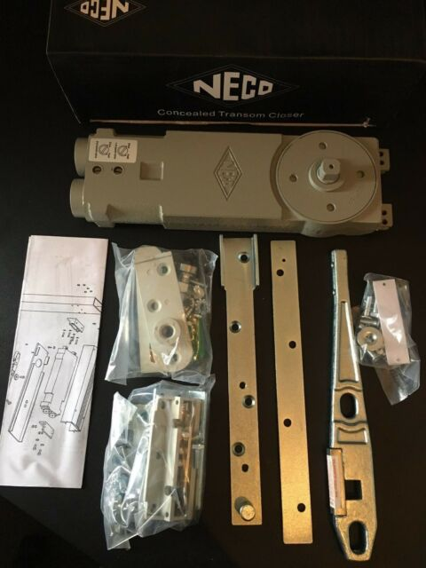 Neco Concealed Overhead Transom Door Closer for aluminium doors & Shopfront