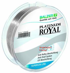 BALZER-PLATINUM-ROYAL-ANTI-DRALL-150m-High-Tech-Monofile-Schnur-ab-0-16mm