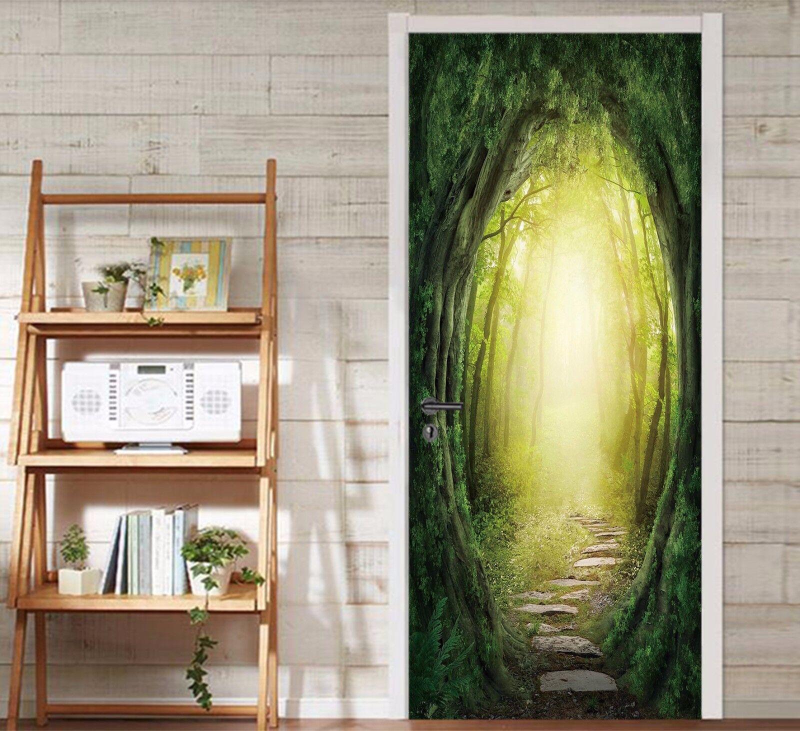 3D Baum Bogen 98 Tür Wandmalerei Wandaufkleber Aufkleber AJ WALLPAPER DE Kyra  | Verschiedene Stile  | Zarte  | Um Zuerst Unter ähnlichen Produkten Rang