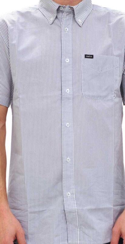 MATIX Bailey SS Woven Shirt (L) Graphite