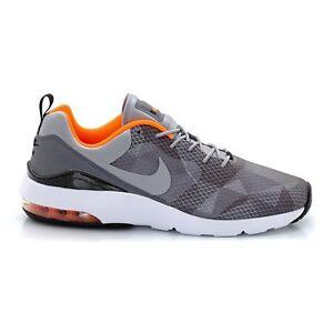 Men's Nike Air Max Siren Print Mesh Grey/Orange/Black New In Box 749815-018
