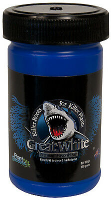 Great White Premium Mycorrhizae beneficial Bacteria 150g HYDROPONICS